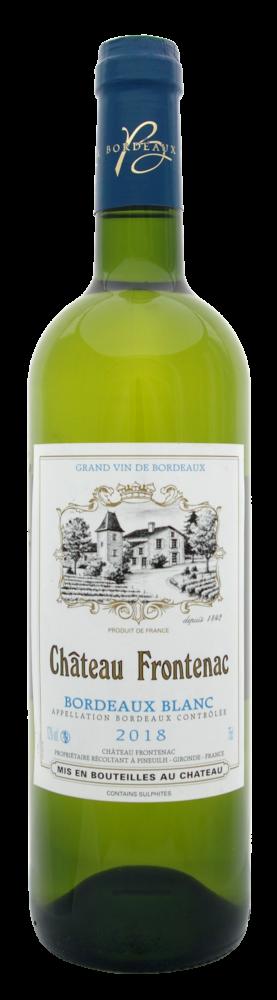 Château Frontenac Bordeaux dry white wine