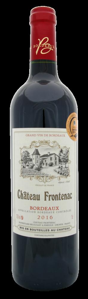 Château Frontenac Bordeaux red wine