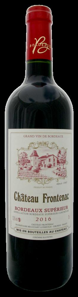 Château Frontenac Bordeaux superior red wine