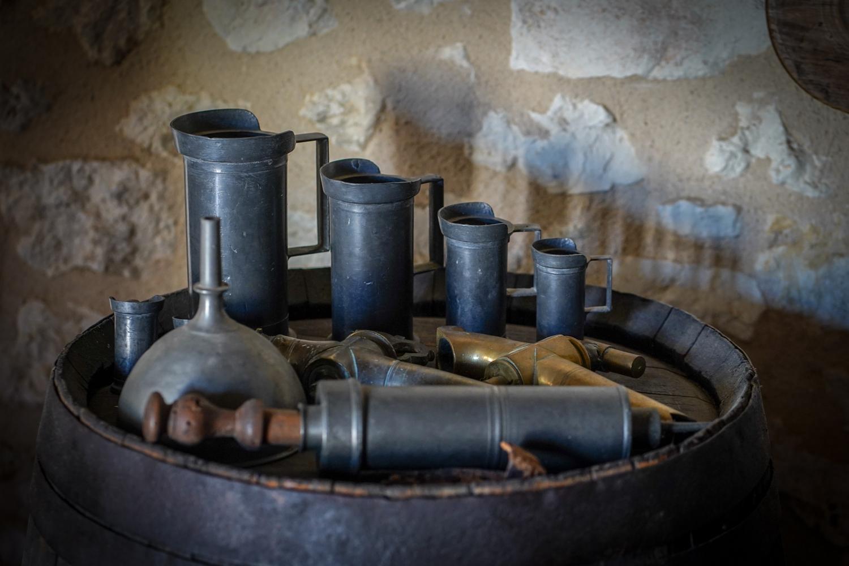 用于酿酒的旧材料